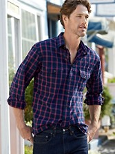 Indigo Fairbanks Shirt