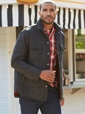 Quilted Outdoor Shirt Jac