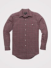 Gingham Heathered Check Shirt