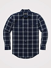 Fitted Lewis Plaid Shirt