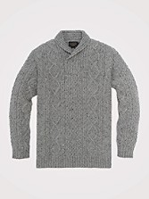 Donegal Fisherman's Cable Pullover