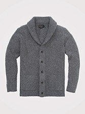 Donegal Shawl-collar Cardigan