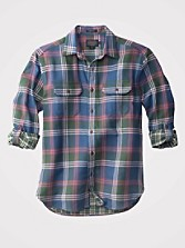 Fitted Fairbanks Plaid Shirt