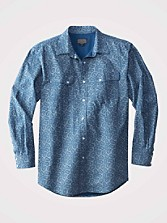 Gambler Western Print Shirt