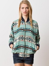 Reversible Oregon Dunes Silk Windbreaker