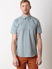 Yachats Cotton Short-sleeve Shirt