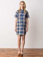 Scout Lake Check Shirt Dress
