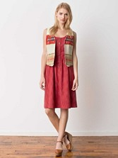 Ukiah Khadi Print Dress