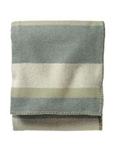 Eco-wise Wool Plaid/stripe Blanket