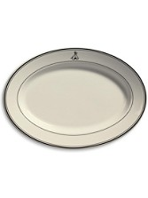Grand Lodge Oval Platter