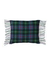 Fringed Merino Toss Pillow
