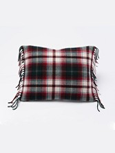 Fringed Merino Toss Pillow