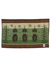 Three Corn Maidens Saddle Blanket