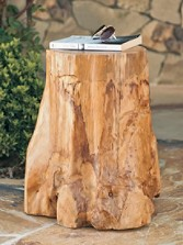 Fir Root Side Table/stool