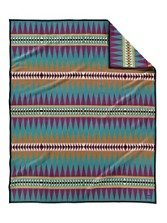 Turquoise Trail Blanket