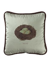 Bird Nest Pillow