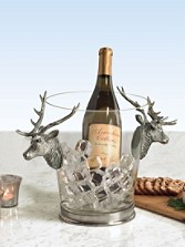 Stag Head Ice Bucket
