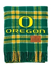 University Of Oregon Tartan Motor Robe