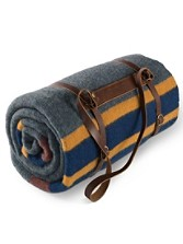 Leather Blanket Carrier