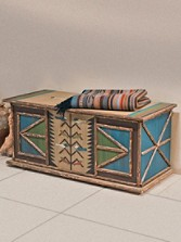 Tree Of Life Blanket Chest