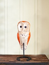 Handcarved Barn Owl