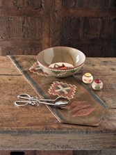 Faux Leather Table Runner
