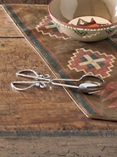 Hand-twisted Taos Salad Tongs