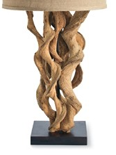 Twisted Vine Table Lamp Base