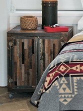 Reclaimed Barnwood Nightstand/side Table