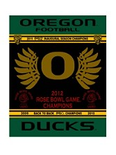 2012 Rose Bowl Championship Blanket