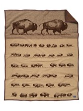 Buffalo Roam Blanket