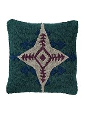 Conejos Hooked Pillow
