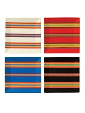 Serape Plates, Set Of 4