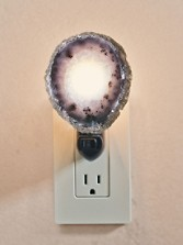 Natural Agate Night Light