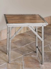 Campaign Folding Side Table