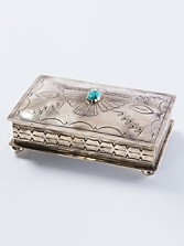 German Silver Rectangular Box