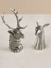 Elk And Doe Salt And Pepper Shakers