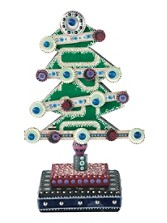 License Plate Tree Folk Art