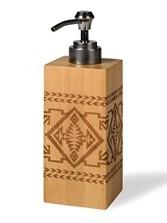 Bamboo Basket Lotion Pump