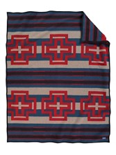 Compass Stripe Blanket