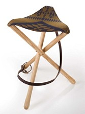 Thomas Kay Basket Maker Camp Stool
