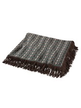 Thomas Kay Fringed Chevron Throw