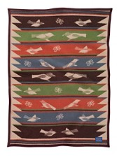 Bird Song Crib Blanket