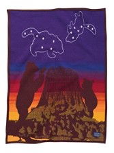 Big Dipper Crib Blanket