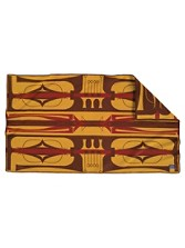 Parfleche Saddle Blanket