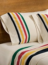 Glacier Park Flannel Sheet Set