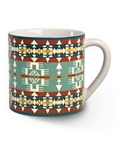 Jacquard Mugs, Set Of 4
