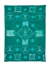 Limited Edition Hand-batik Wool Throw