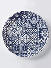 Melamine Dinner Plates, Set Of 4