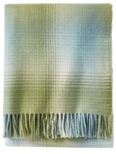 Eco-wise Ombre Plaid Throw
